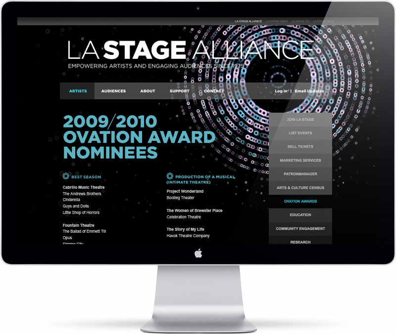 LA STAGE Ovation Awards 10/11